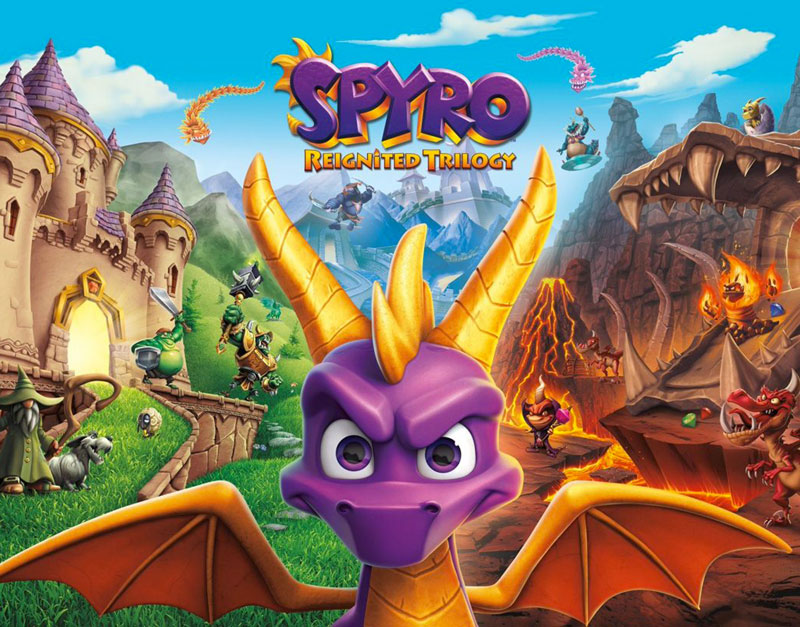 Spyro Reignited Trilogy (Xbox One), Its The Vibes, itsthevibes.com